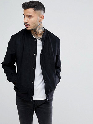 Bomberjackor - Farah Kensington Bomber Jacket In Black