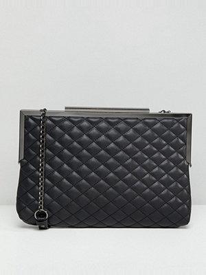 New Look kuvertväska Quilted Oversized Clutch Bag