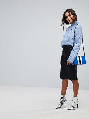 Miss Selfridge Leather Look Pencil Skirt