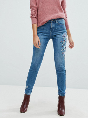 New Look Embroidered Skinny Jean