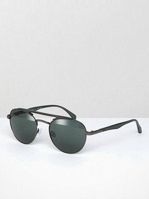 Solglasögon - AJ Morgan Fast Aviator Sunglasses In Grey