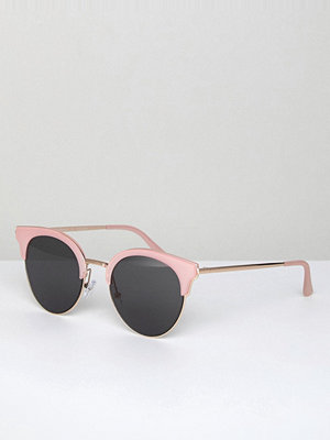 Solglasögon - AJ Morgan Sheva Retro Sunglasses In Pink