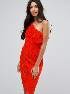 Paper Dolls Tall One Shoulder Crochet Lace Dress