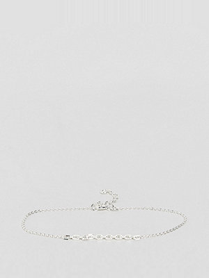 ASOS armband Sterling Silver Linked Chain Detail Bracelet