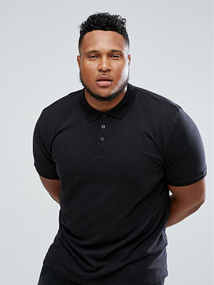 Pikétröjor - Only & Sons PLUS Polo Shirt In Slim Fit