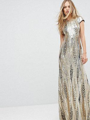 TFNC Allover Sequin Maxi Dress