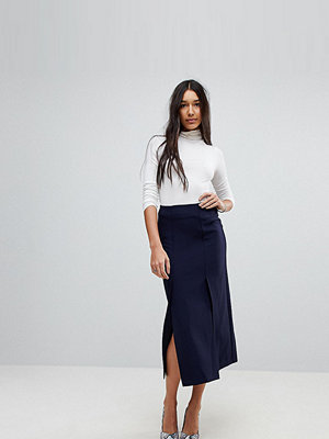 Asos Tall Tailored Column Skirt with Split Detail
