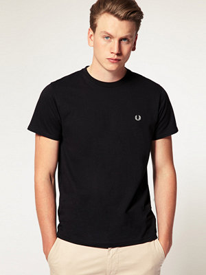 T-shirts - Fred Perry T-Shirt With Crew Neck In Black