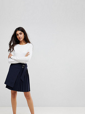 Asos Tall Tailored Kilt Skirt with Asymmetric Wrap