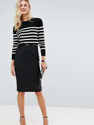 Asos Tall Tailored Belted Pencil Skirt in Longer Length