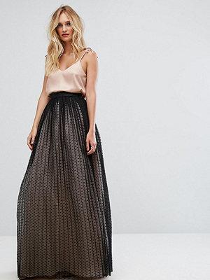 Asos Tall Tulle Spot Maxi Skirt