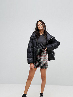 PrettyLittleThing Check Mini Skirt