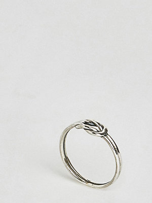 Reclaimed Vintage Inspired Sterling Silver Knot Ring