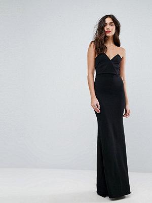 Outrageous Fortune Bandeau Fishtail Maxi Dress