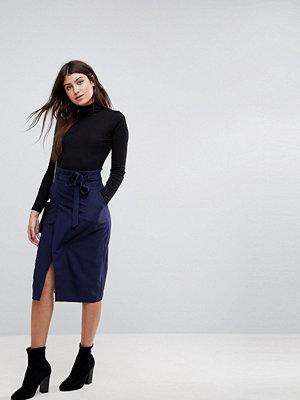 ASOS Tailored Pencil Skirt With Obi Tie