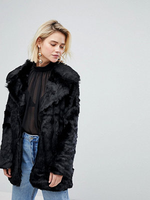 Warehouse Faux Fur Jacket