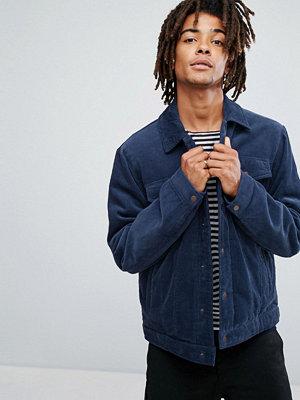 Jeansjackor - ASOS Padded Cord Jacket in Blue