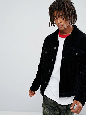 Jeansjackor - ASOS Cord Jacket in Black