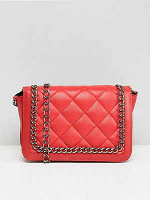 ASOS axelväska Quilted Shoulder Bag With Chain Handle