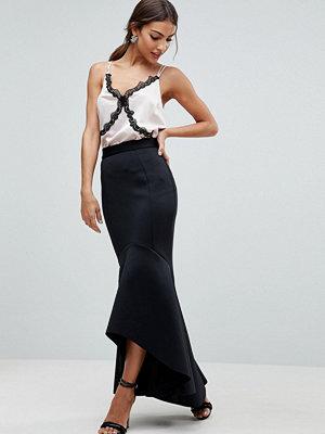 ASOS Scuba Fishtail Maxi Skirt