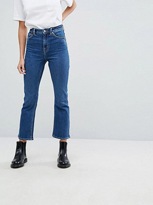 Weekday High Rise Crop Flare Jean