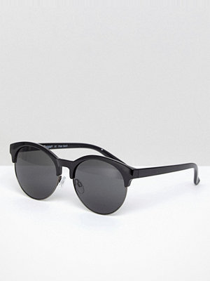Solglasögon - AJ Morgan Retro Sunglasses In Black