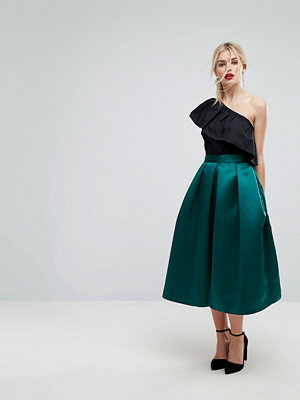 Closet London Full Prom Sateen Midi Skirt