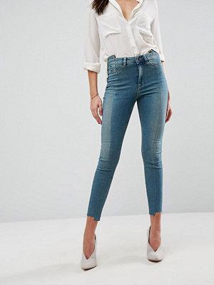 ASOS DESIGN RIDLEY Höga jeans med extra smal passform