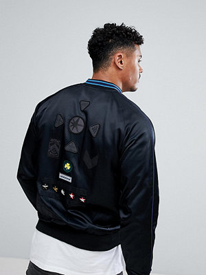 Bomberjackor - Diesel Patch Satin Jackets