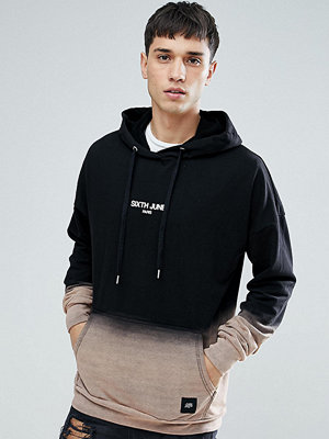 Sixth June TALL Hoodie With Bleach Fade