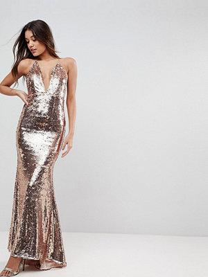 ASOS Embellished Cami Fishtail Maxi Dress