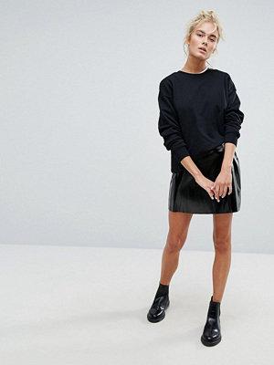 Weekday Vinyl Wrap Front Skirt