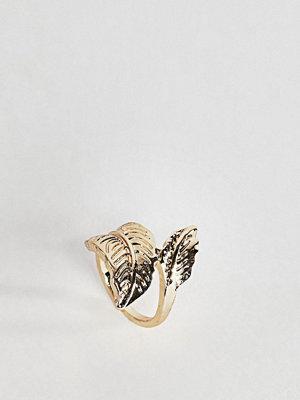 ASOS Leaf Wrap Thumb Ring