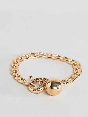 ASOS armband Chain and Ball Charm Bracelet