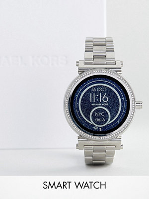 Michael Kors Access MKT5020 Sofie Bracelet Smart Watch In Silver