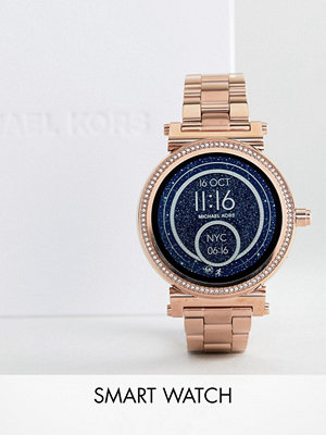 Michael Kors Access MKT5022 Sofie Bracelet Smart Watch In Rose Gold