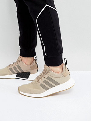 Adidas Originals NMD R2 Trainers In Beige BY9916