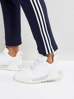 Adidas Originals H.F/1.4 Primeknit Trainers In White BY9396