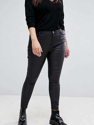 Simply Be Coated Skinny Jeans