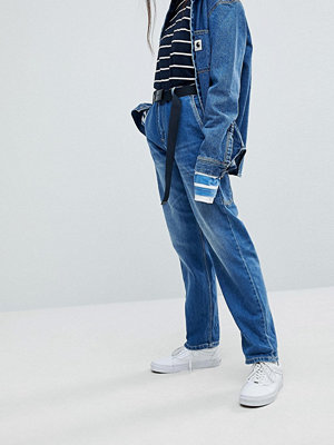 Carhartt WIP Relaxed Boyfriend Jeans With Hammer Loop