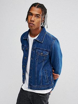 Jeansjackor - Brooklyn Supply Co. Brooklyn Supply Co Mid Wash Ultimate Denim Jacket