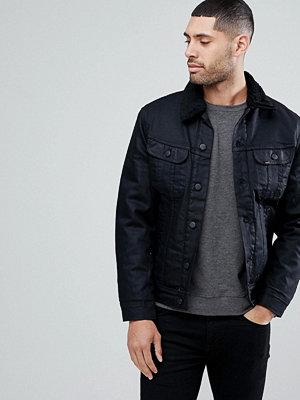 Jeansjackor - Lee Rider Sherpa Borg Jacket