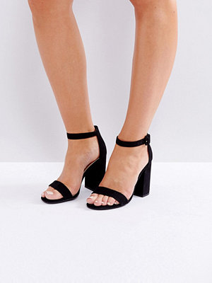 Sandaler & sandaletter - New Look Barely There Block Heeled Sandal