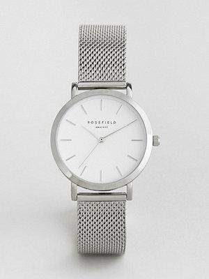 Klockor - Rosefield Tribeca Mesh Watch In Silver 33mm