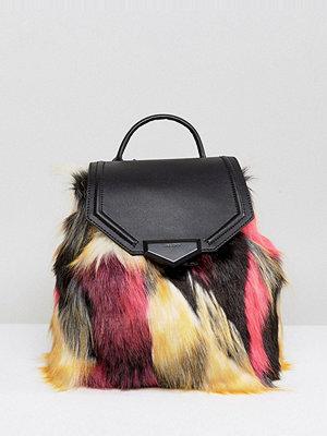 Aldo ryggsäck Gazzone Faux Fur Backpack