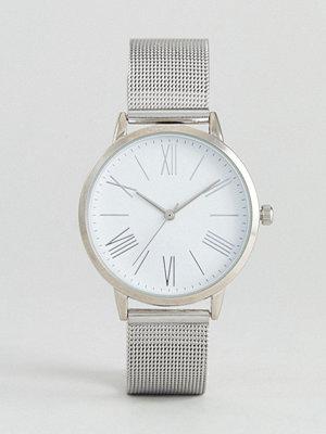 Klockor - ASOS Minimal Silver Mesh Watch
