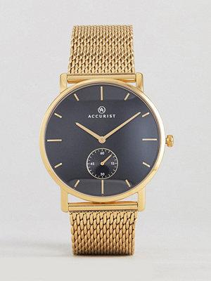 Klockor - Accurist 7185.01 Mesh Watch In Gold