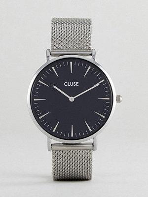 Klockor - Cluse CL18106 La Bohème Mesh Watch In Silver