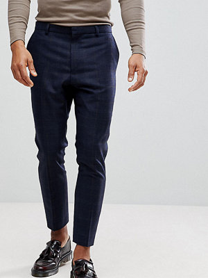 Byxor - Heart & Dagger Tapered Check Trouser