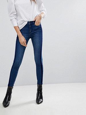 Vero Moda Slim Jeans with Velvet Trim